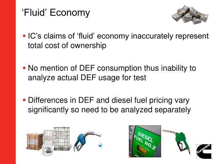 'Fluid' Economy