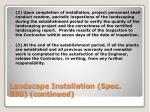 landscape installation spec 580 continued1