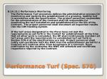performance turf spec 570