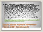 value added asphalt pavement spec 338 continued1