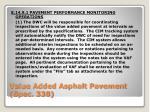 value added asphalt pavement spec 338