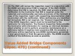 value added bridge components spec 475 continued1