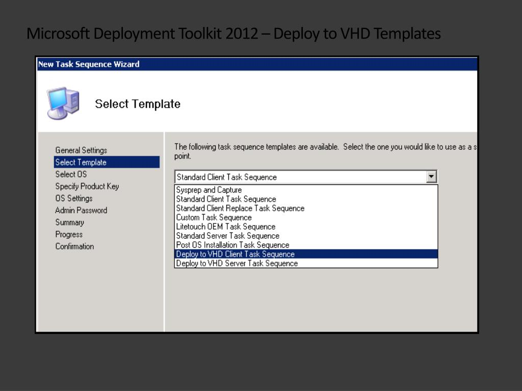 PPT - MDT 2012 and Configmgr 2012: Operating System