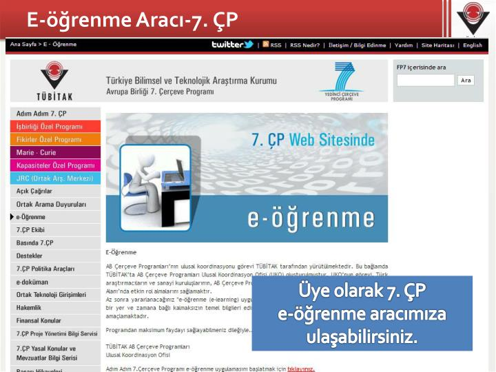 E-öğrenme Aracı-7. ÇP