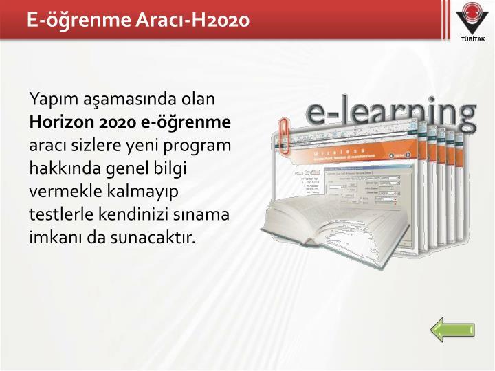 E-öğrenme Aracı-H2020