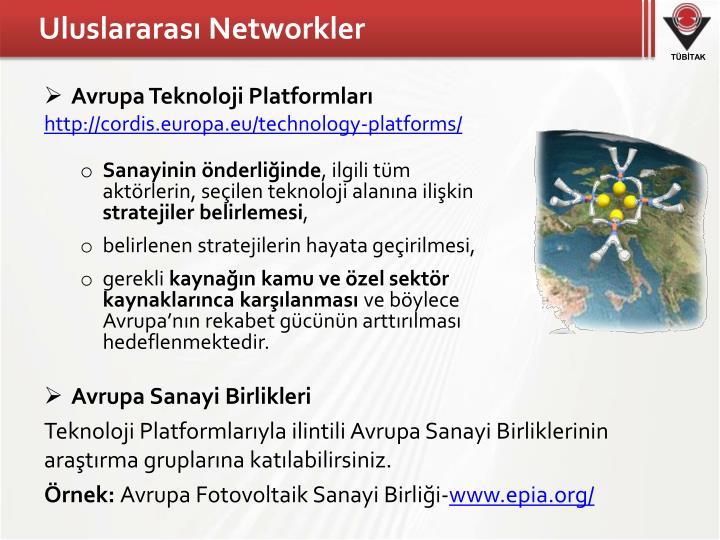 Uluslararası Networkler