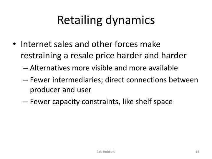 Retailing dynamics