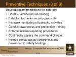 preventive techniques 3 of 6