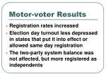 motor voter results
