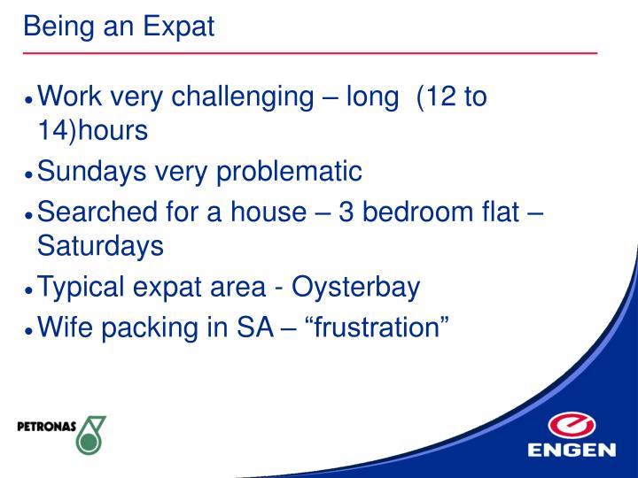 Being an Expat