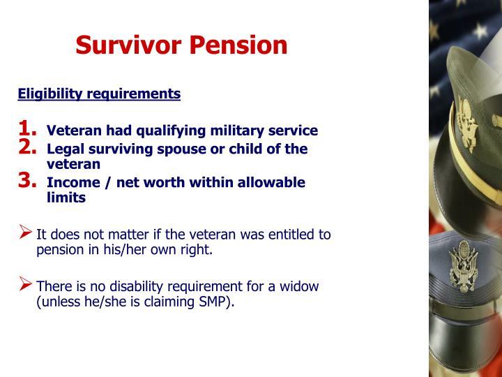Survivor Pension