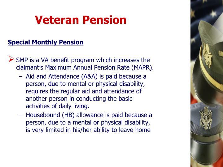 Veteran Pension