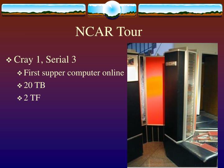 NCAR Tour