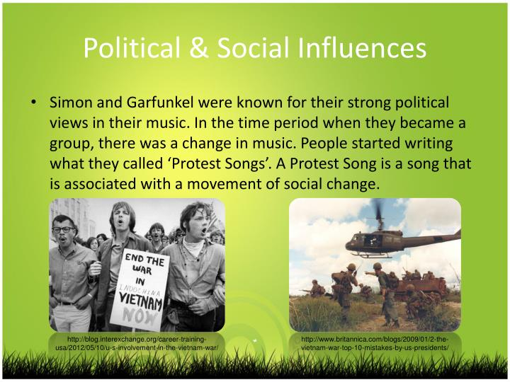 Political & Social Influences