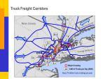 truck freight corridors
