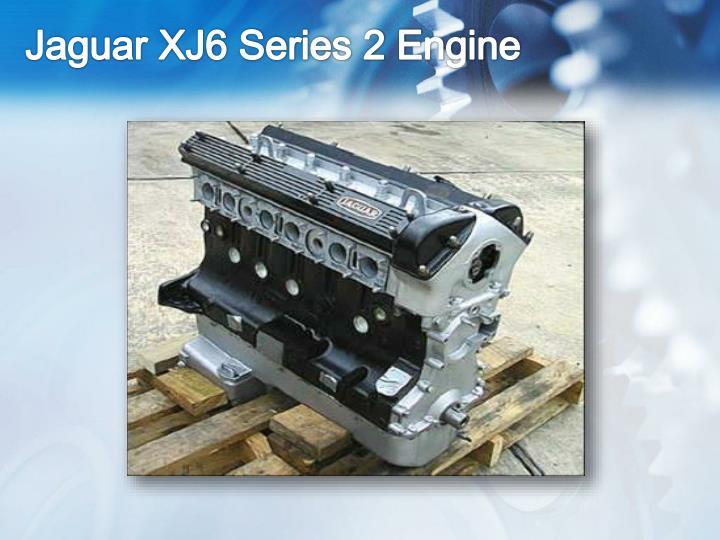 Jaguar XJ6 Series 2 Engine