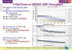 4 gig flows on g ant udp throughput