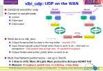 vlbi udp udp on the wan