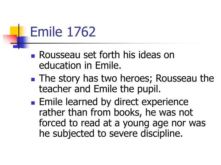 Emile 1762