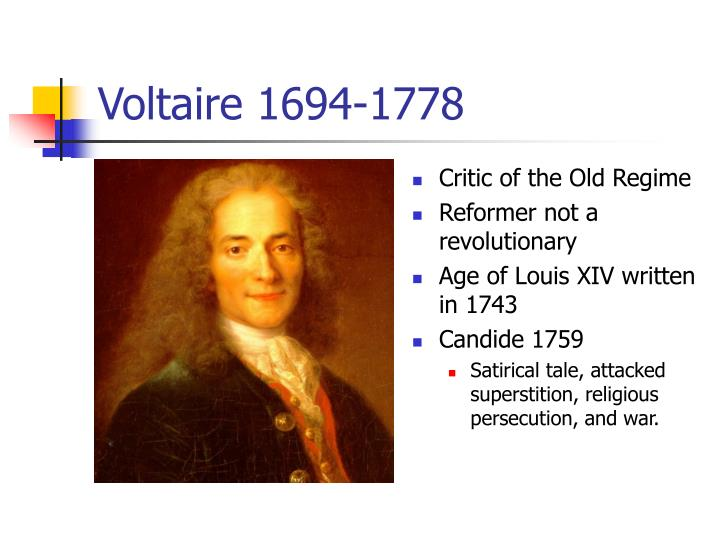 Voltaire 1694-1778