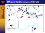 offshore northwest java oil field