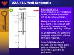 uxa 4s l well schematic