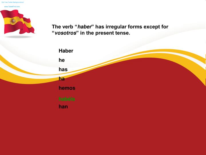 """The verb """""""