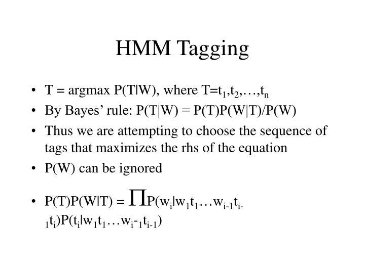 HMM Tagging