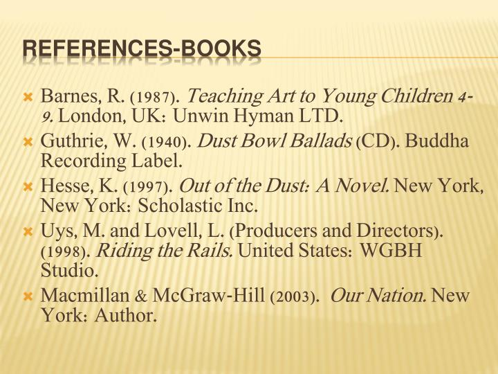 Barnes, R. (1987).