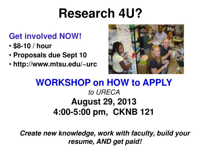 Research 4U?
