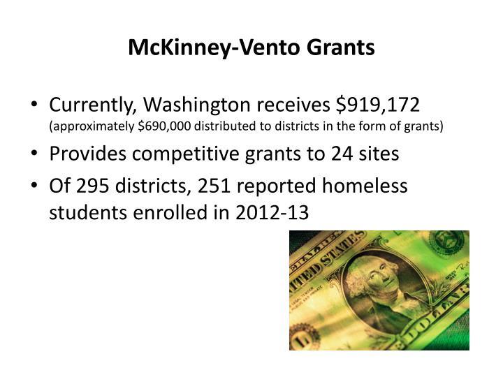 McKinney-Vento Grants