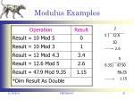 modulus examples1