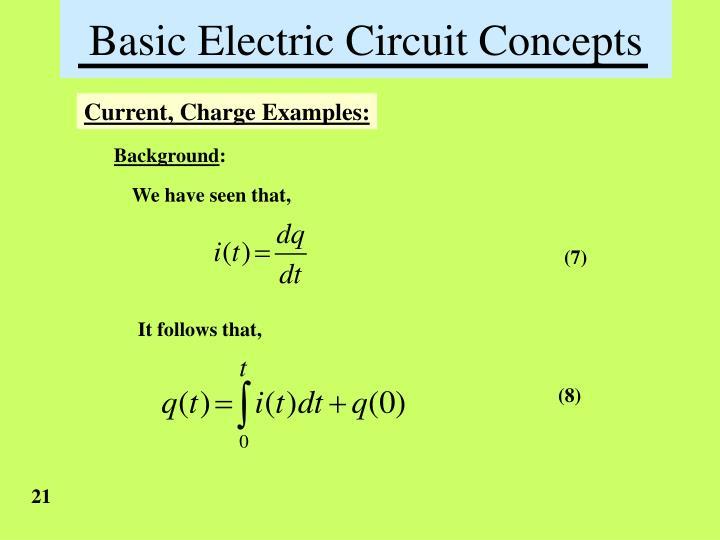 basic laws of electronic circuit