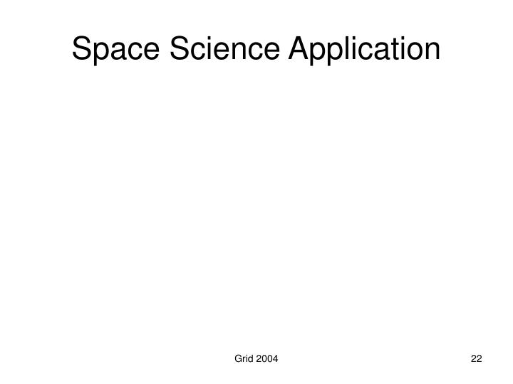 Space Science Application