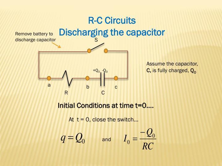 R-C Circuits