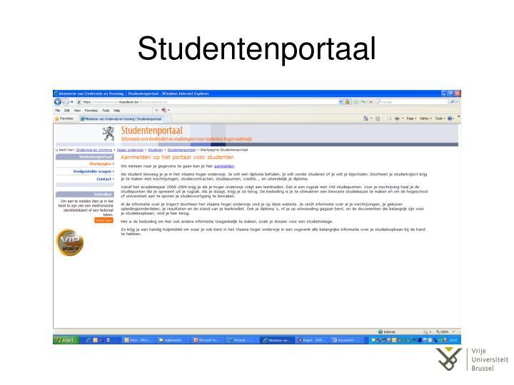 Studentenportaal