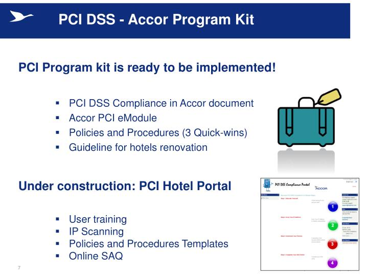 PCI DSS - Accor