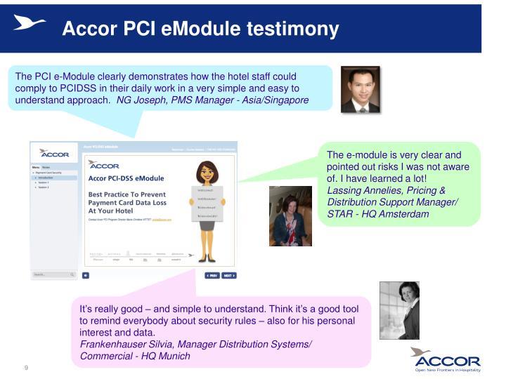 Accor PCI