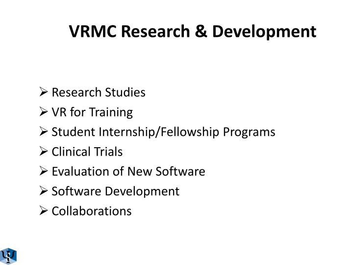 VRMC Research & Development