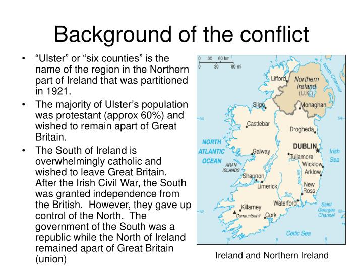 Background of the conflict