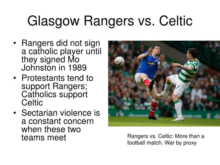 Glasgow Rangers vs. Celtic
