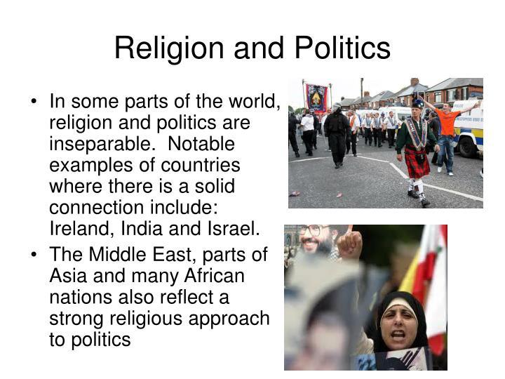 Religion and politics1