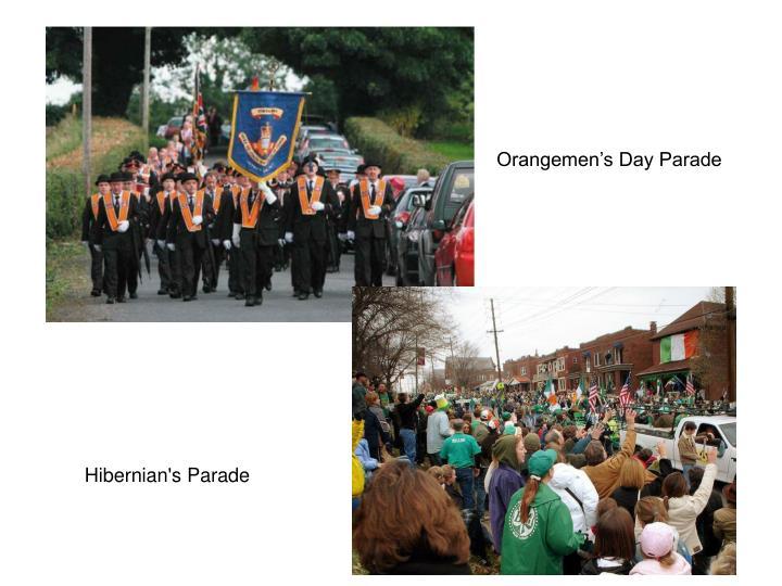 Orangemen's Day Parade