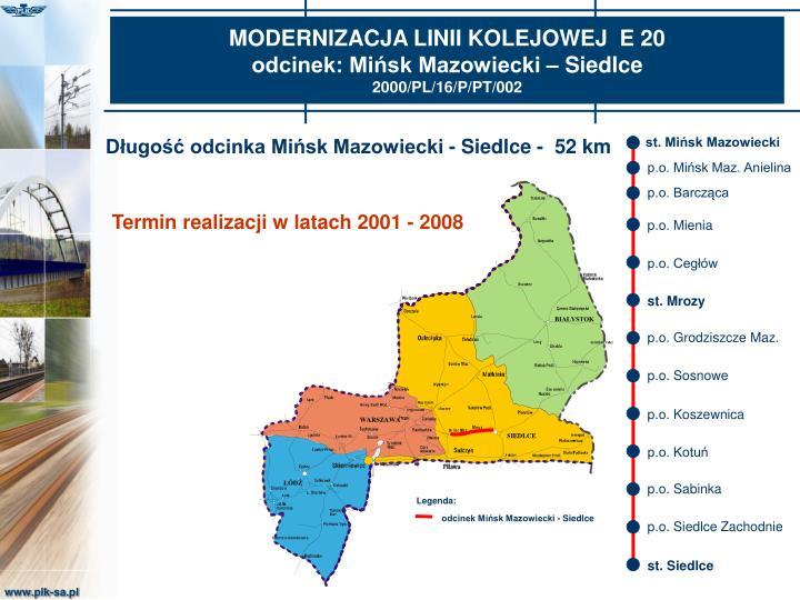 st. Mińsk Mazowiecki