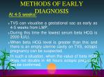 methods of early diagnosis1