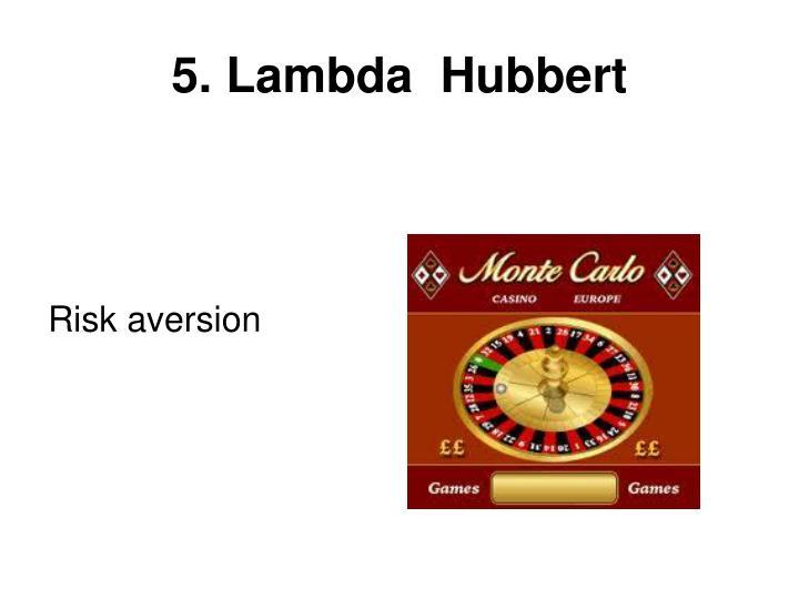 5. Lambda