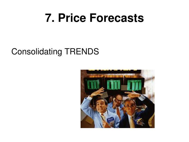 7. Price Forecasts