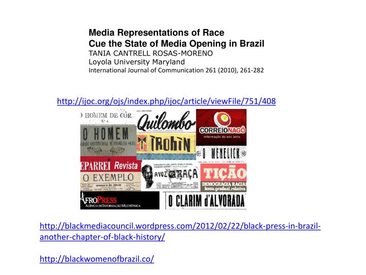 Media Representations of Race