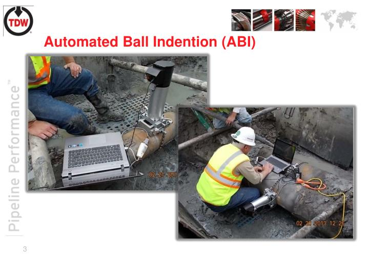 Automated ball indention abi