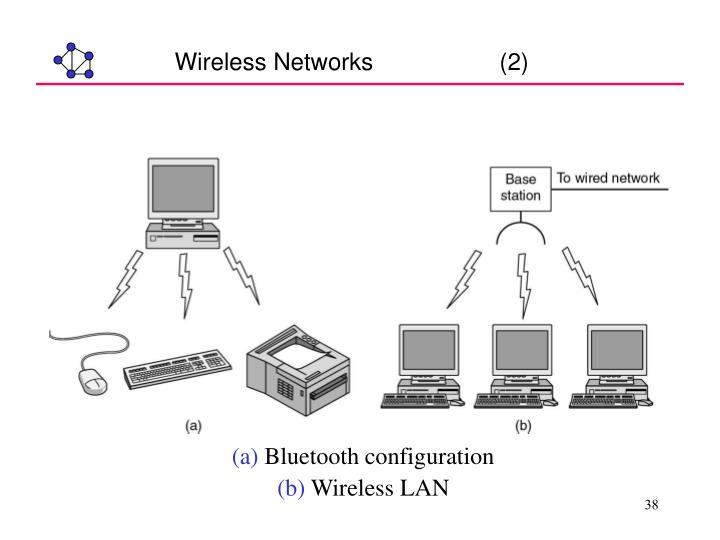 Wireless Networks                   (2)